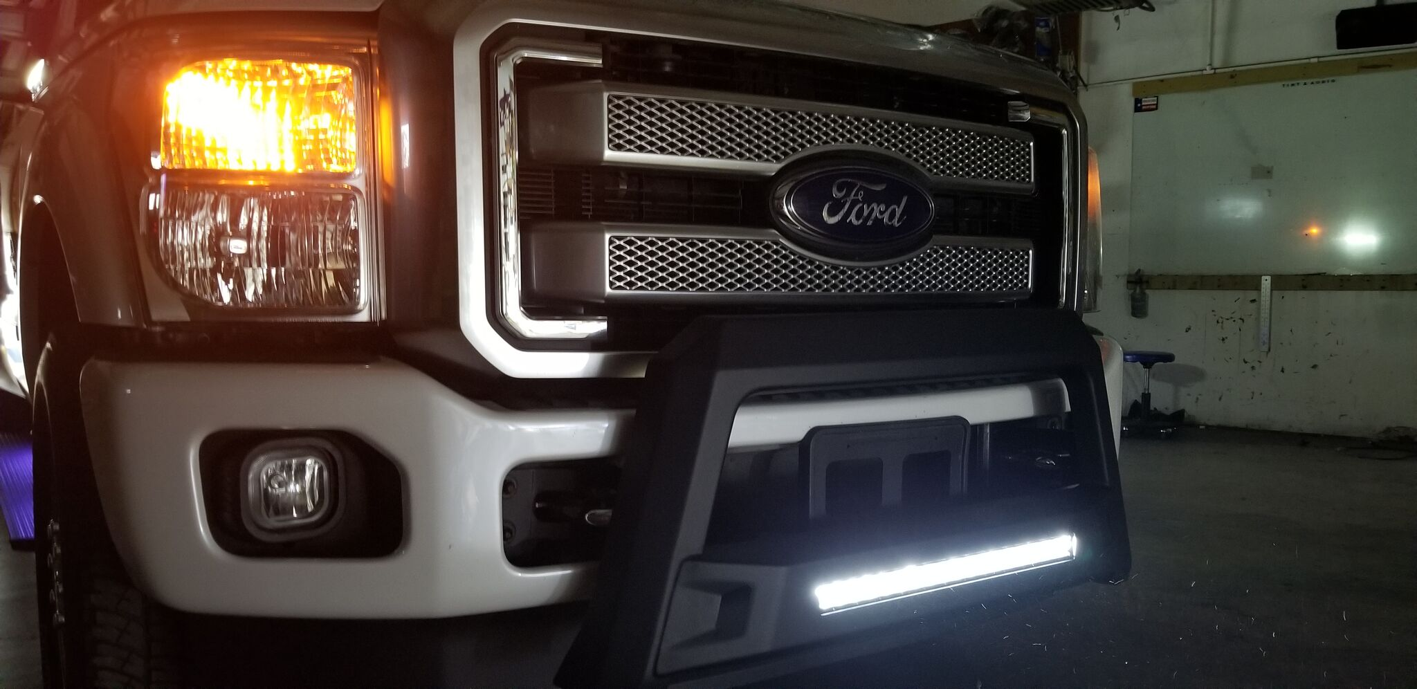 Impact Tint and Audio Lighting